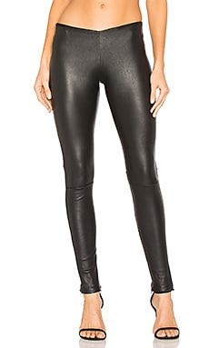Low Waistband Leggings in Black