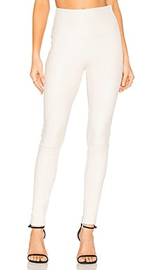 High Waistband Leggings in White