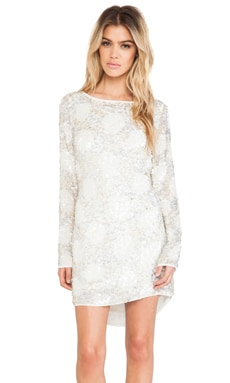 MLV Alina Sequin Dress in Ivory
