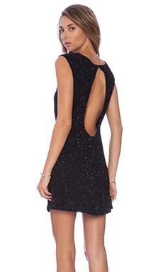 MLV Kari Sequin Dress in Black