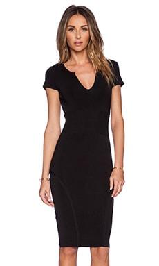 Kaya Contour Dress en Noir