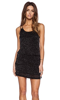 MLV Paloma Sequin Dress in Black