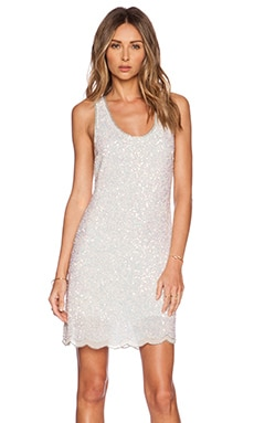 MLV Allison Sequin Dress in White