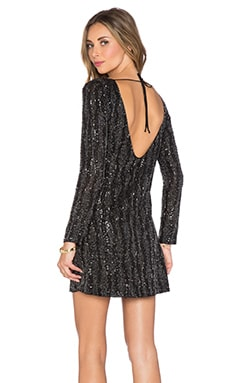 MLV Tyler Sequin Dress in Black