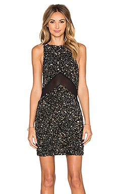 Lana Sequin Dress in Black