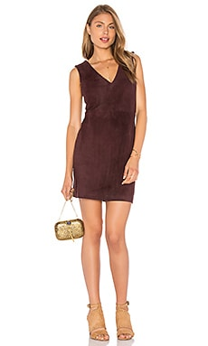 Poppy Dress in Mulberry