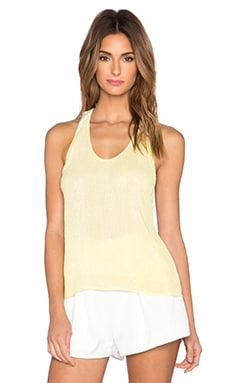 MLV Nori Beaded T-Strap Tank in Sun
