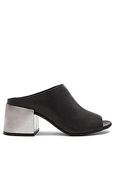 Slip On Heeled Sandal