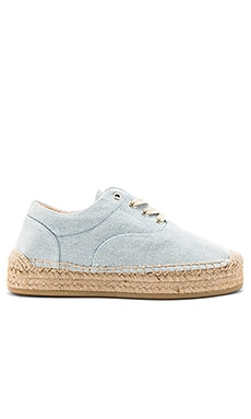 Espadrille in Light Blue
