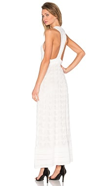 M Missoni Deep V Maxi in White