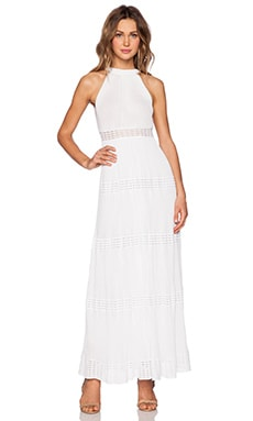 M Missoni Maxi Dress in White