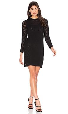 Купить Мини-платье с длинным рукавом - M Missoni, Италия, Черный