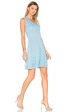 Мини платье без рукавов с v-образным вырезом - M Missoni MD3KD0Z62D4