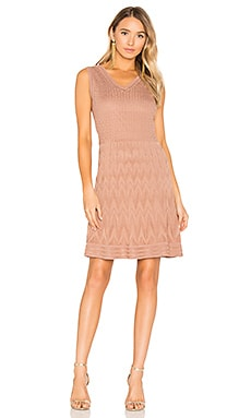 Sleeveless Mini Dress in Copper