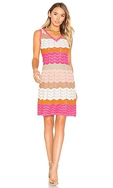 Мини платье без рукавов с v-образным вырезом - M Missoni MD0KD20Q2FY
