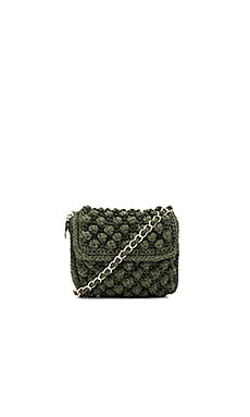 Textured Crossbody Bag in Olive