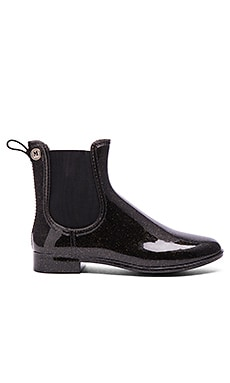 M Missoni Glitter Rain Booties in Black