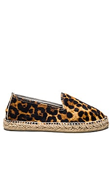 Accra Espadrille in Pony Leopard