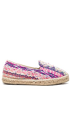 MANEBI Ibiza Espadrille in Fluo Multicolor