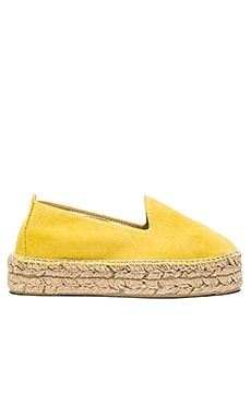 MANEBI Hamptons Double Sole Espadrille in Saffron