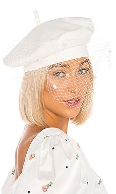 Veil Beret Hat MARIANNA SENCHINA $143