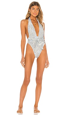 Tropez Tie Up One Piece Montce Swim $198