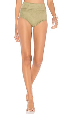Belted High Rise Bottom Montce Swim $49