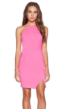 Minty Meets Munt Evolve Mini Dress in Raspberry