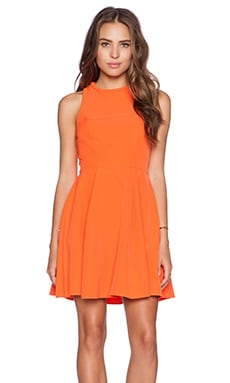 Minty Meets Munt Instant Crush Dress in Tangerine