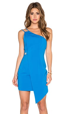 Minty Meets Munt Angular Dress in French Blue