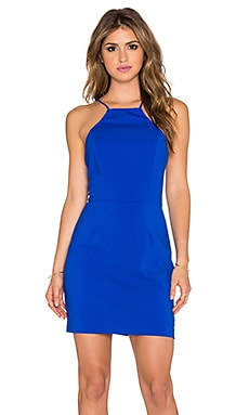Minty Meets Munt Hang Around Dress in Cobalt