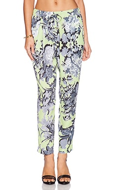 Minty Meets Munt Digital Love Pant in Acid Botanica