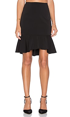 Minty Meets Munt Let It Flare Skirt in Black