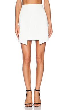 Minty Meets Munt Lose Yourself Skirt in White