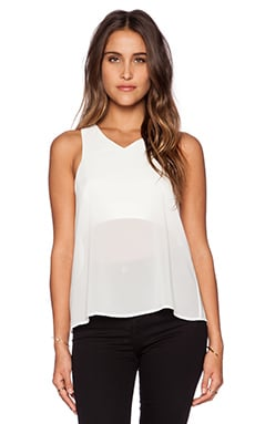 Minty Meets Munt Hidden Truth Top in White