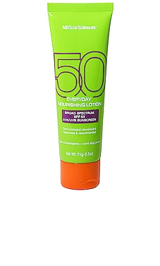 Everyday Nourishing Lotion SPF 50 MDSolarSciences $30