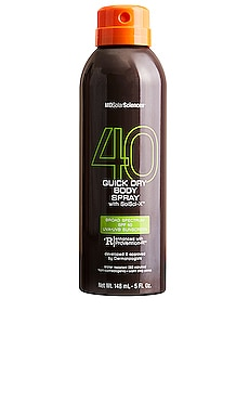 Quick Dry Body Spray SPF 40 MDSolarSciences $20