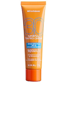 Mineral Tinted Creme SPF 30 MDSolarSciences $32 BEST SELLER