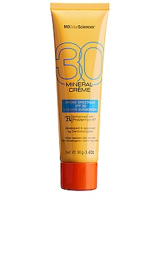 Mineral Creme SPF 30 MDSolarSciences $36