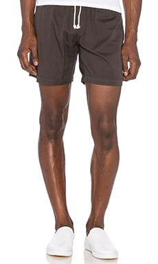 Mollusk Summer Shorts in Faded Black