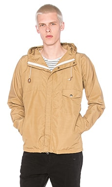 Mollusk Benetau Windbreaker in Tan