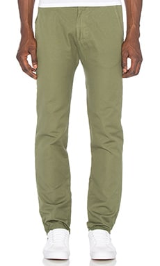 Mollusk Chinos in Faded Mash Green