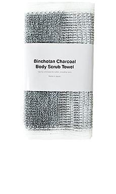 Binchotan Charcoal Body Scrub Towel MORIHATA $19