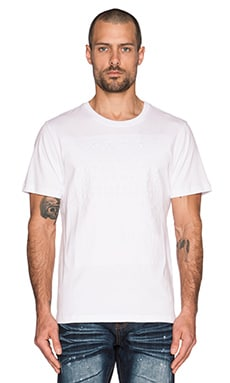 Mostly Heard Rarely Seen Stars Squared Tee in White