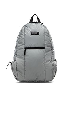 Mostly Heard Rarely Seen Space Backpack in Silver