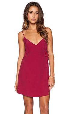 Motel Chiko Slip Dress in Aubergine