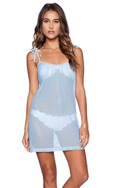 Motel Jean Dress in Sky Blue