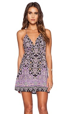Motel Aria Mini Dress in Agra Purple