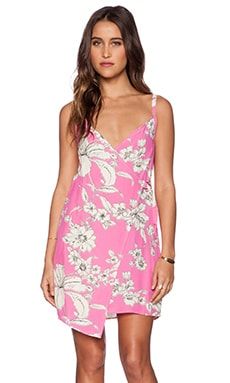 Motel Maiko Dress in Pink Paradise