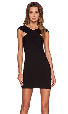 Motel Miranda Dress in Black